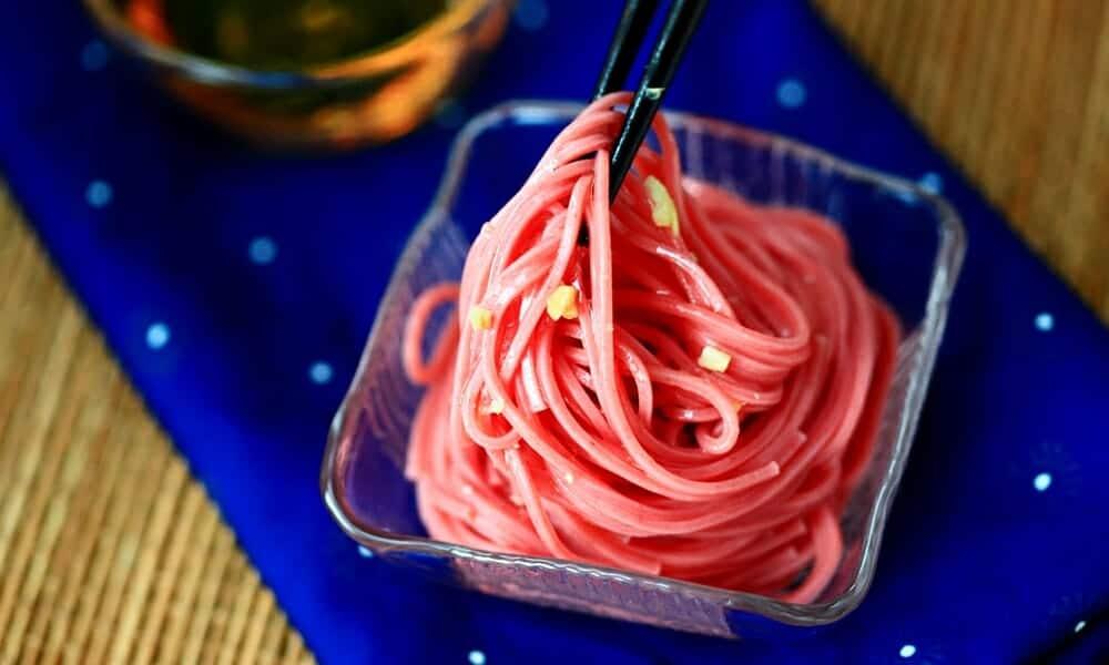 紅麴麵線輕鬆入菜,宵夜也能超健康! - 2