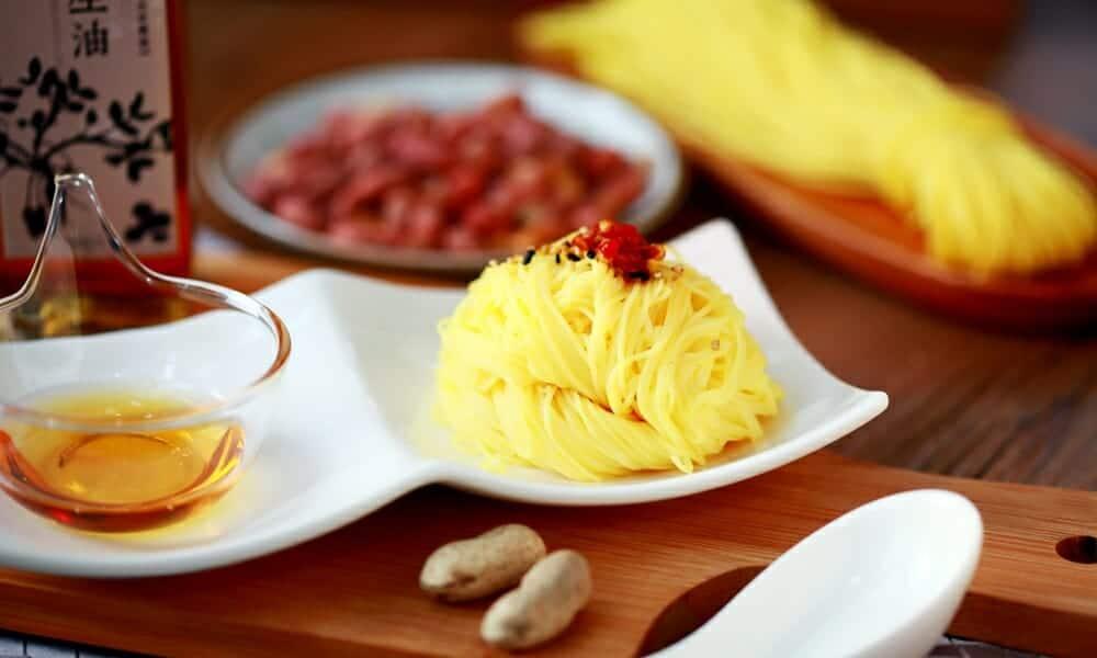 麵線禮盒的傳統台灣味,外國客戶最難忘的伴手禮! - 1