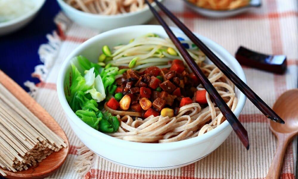 春夏涼麵健康選擇 - 美味又好吃的全麥麵條,開胃無負擔! - 1