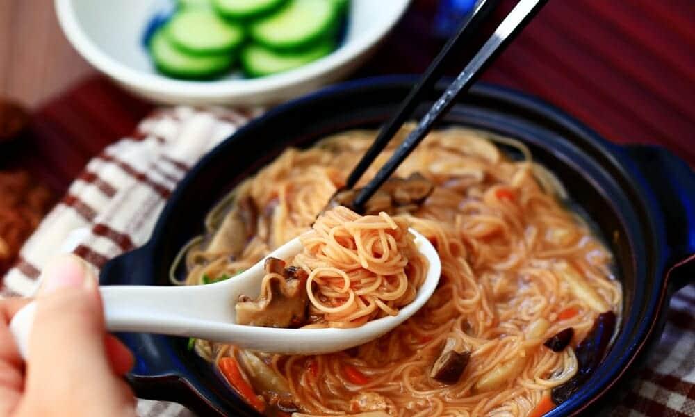 香菇麵線糊,台灣傳統好滋味,素食者即食口袋美食 - 2