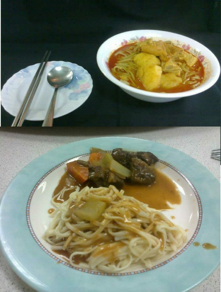 『網友熱情分享』-馬來西亞-咖喱抹茶面 - 1