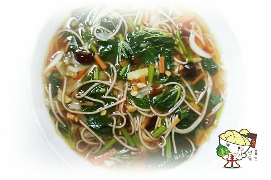 料理食譜-天然養生全麥麵 - 1