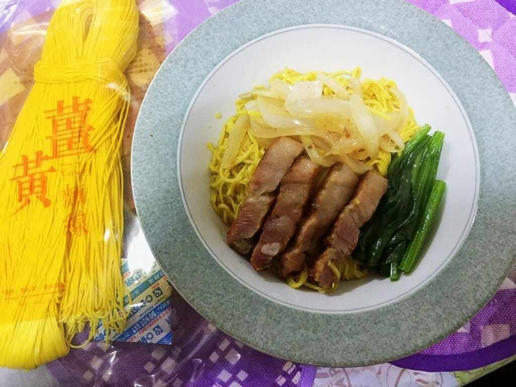 薑黃麵線料理食譜-黯然銷魂麵線 - 1