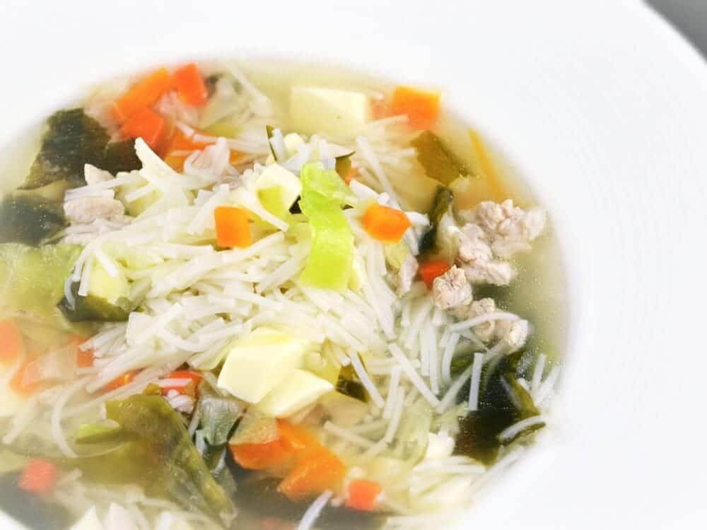 百福友白髮素麵線食譜料理-我愛吃麵 - 1