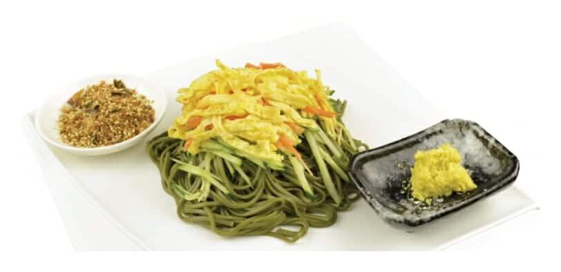 日式藍藻涼麵