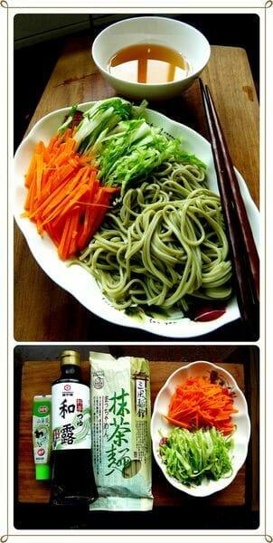 爽口抹茶涼麵DIY 簡單又美味的日式抹茶麵食譜 - 2