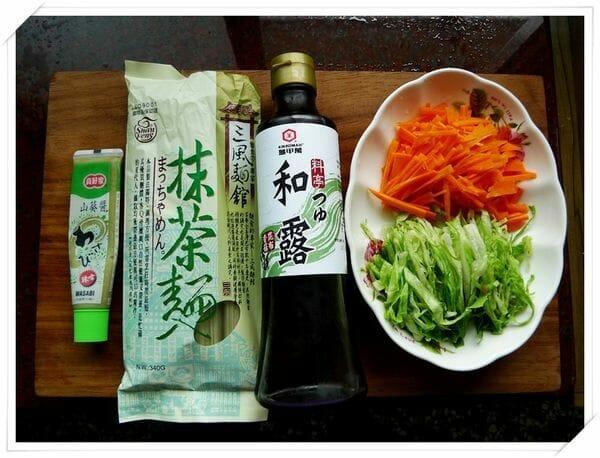 爽口抹茶涼麵DIY 簡單又美味的日式抹茶麵食譜 - 3