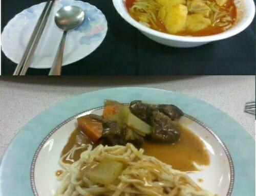 『網友熱情分享』-馬來西亞-咖喱抹茶面