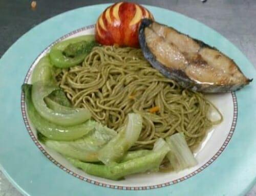 『網友熱情分享』-香酥魚煎抹茶麵