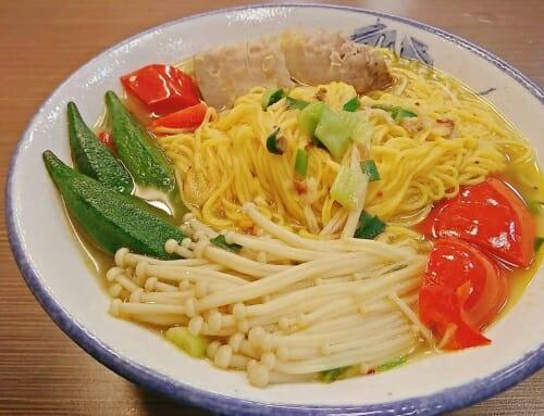 薑黃麵線料理食譜- 野菜園薑黃麵線